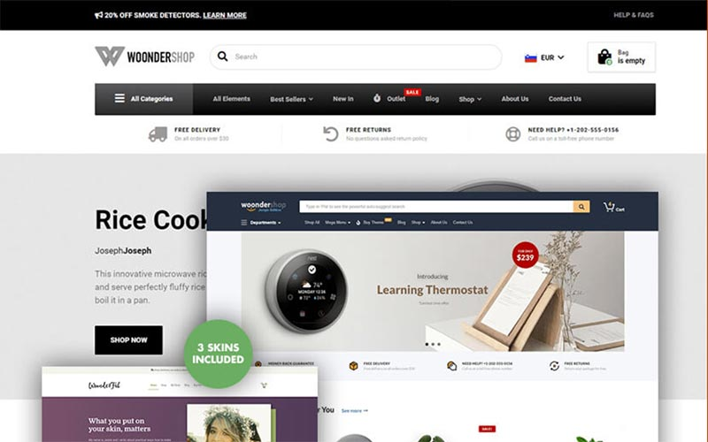 The Fastest & BEST WooCommerce Themes in 2020 (FREE & Paid) 25