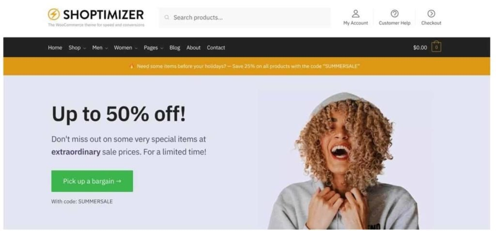 The Fastest & BEST WooCommerce Themes in 2021 (FREE & Paid) 7