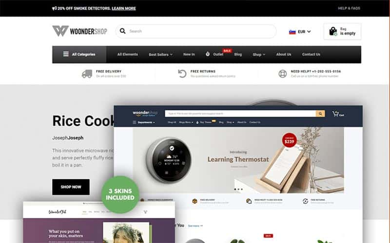 The Fastest & BEST WooCommerce Themes in 2021 (FREE & Paid) 13