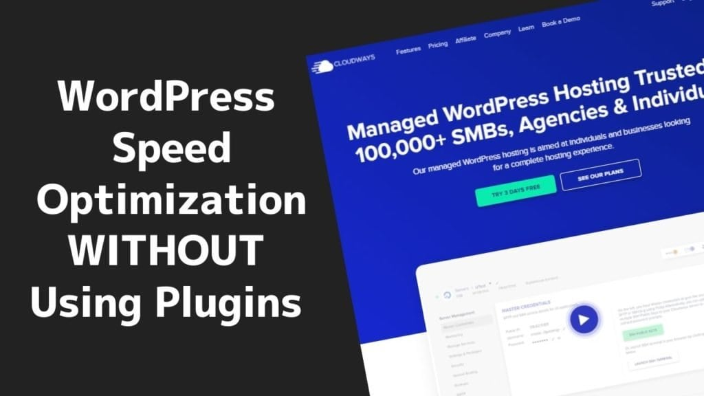 Speed optimization without plugins