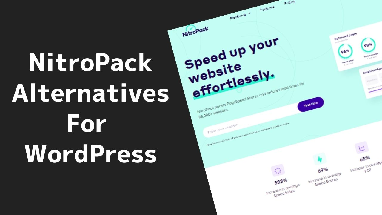 NitroPack Alternatives for WordPress